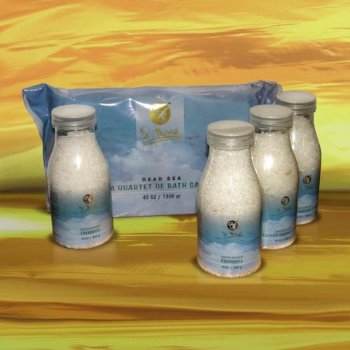 Квартет солей для ванны 4 баночки по 300 г. Доктор Нона ● Dr. Nona