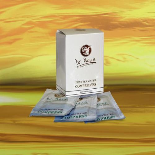 Салфетки-компрессы из воды Мертвого моря 15 шт. Доктор Нона ● Dr. Nona